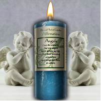 Angel Affirmation Candle