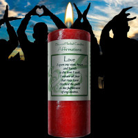 Love Affirmation Candle