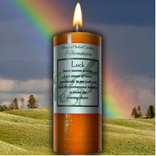 Luck Affirmation Candle