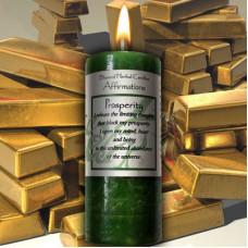 Prosperity Affirmation Candle