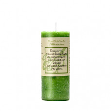 Affirmation Prosperity Candle