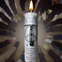 Peace Limited Edition Blessed Herbal Candle