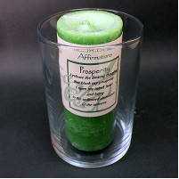 Affirmation Glass Candle Holders