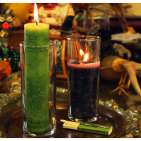 Blessed Herbal Coventry Glass Candle Holder Case Packs (9)