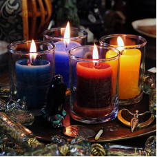 Power Votive Coventry Glass Candles Case Pack (12)