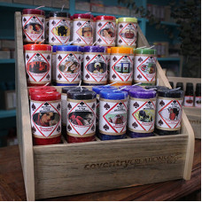 Motor City Hoo Doo Candle Display Package