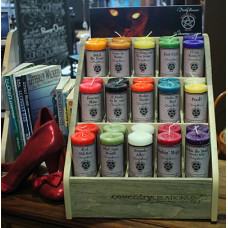 Wicked Witch Mojo Candle Display Package