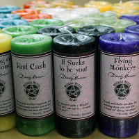 Wicked Witch Mojo Candle  Restocking Set