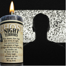 Night Terrors Limited Edition Ghost Candle