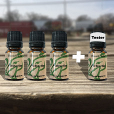 Attraction/Love Blessed Herbal Oil Tester Set