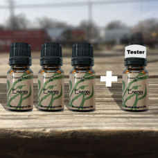 Energy & Will Blessed Herbal Oil Tester Set
