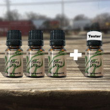 Money Draw Blessed Herbal Oil Tester Set