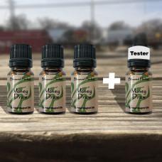 Money Draw Blessed Herbal Oil Tester Set