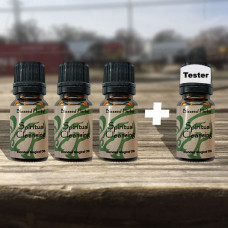 Spiritual Cleansing Blessed Herbal Oil Tester Set