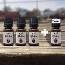 Red Stilettos Wicked Witch Mojo Oil Tester Set