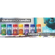 Chakra Magic Candle shelf talker