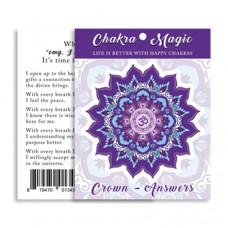 Chakra Magic Answers Sticker (6 pack)