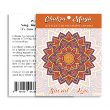 Chakra Magic Love Sticker (6 pack)
