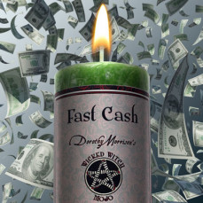 Fast Cash Wicked Witch Mojo Candle
