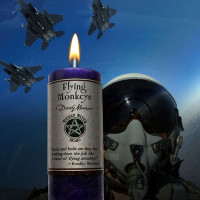 Flying Monkeys Wicked Witch Mojo Candle