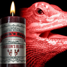 Dragon's Blood Witch's Brew Candle