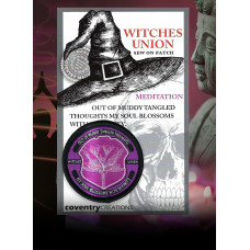 Witches Union Meditation Patch