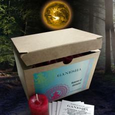 Ganesha World Magic Votives (Box of 24)