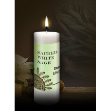 Sacred White Sage Candle 228x228