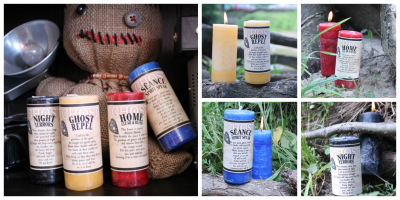 Ghost Candles are now available for sale!