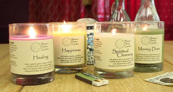 Price Reduction Announcement: Glass Container Candles