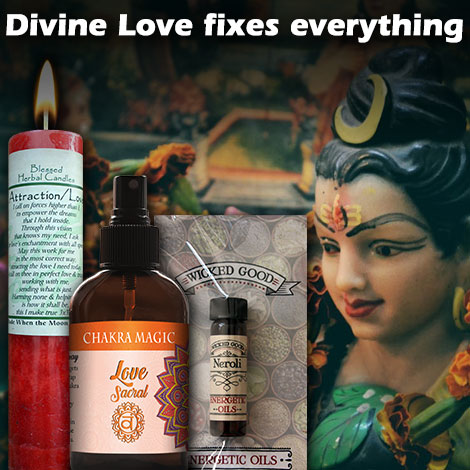 HM Divine love fixes everything
