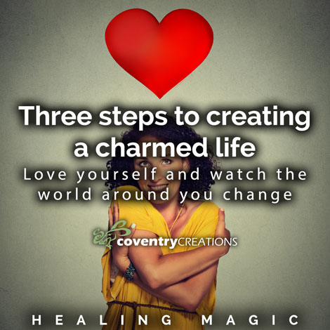 Three steps to creating a charmed life HealingMagic 470sq